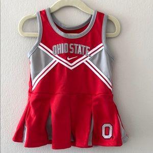 Ohio State cheerleader dress